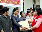 La Croix-Rouge du Vietnam au soutien des sinistrés du Centre