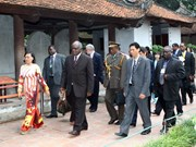 Le président namibien achève sa visite d'Etat au Vietnam