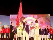 SEA Games 27 : cérémonie de départ des sportifs vietnamiens