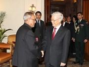 Le leader du PCV rencontre des dirigeants indiens
