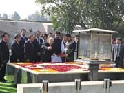 Le leader du PCV entame sa visite d'Etat en Inde