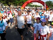 Plus de 15.000 participants à la course Terry Fox