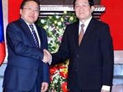 Le président mongol achève sa visite d'Etat au Vietnam
