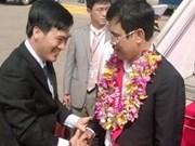 Tan Son Nhat accueille son 20 millionième passager pour 2013