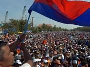 Le gouvernement cambodgien accuse le CNRP de violation de la Constitution