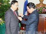 L'ambassadeur de Thaïlande au Vietnam à l'honneur
