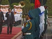 Le PM cambodgien commence sa visite au Vietnam