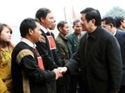Le président du Vietnam exhorte la bonne exploitation des terres agricoles et sylvicoles