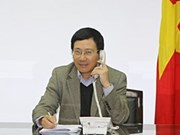 Vietnam-Chine: entretien téléphonique entre les ministres des AE