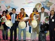 Nouvel An 2014: le Vietnam accueille ses premiers touristes étrangers