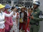 Cambodge : conflit entre policiers et grévistes