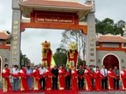 Inauguration du site commémoratif du Président Ho Chi Minh à Ca Mau