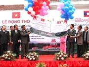 Télévision : aide vietnamienne pour Oudomxay (Laos)