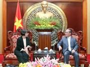 Vietnam-Italie: Renforcement des relations entre les deux organes législatifs