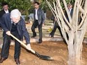 Nguyen Phu Trong effectue une visite à Son La