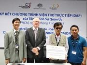 L'Australie finance 11 petits projets au Vietnam