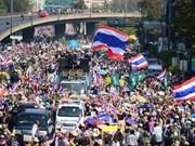 Thaïlande : les opposants mobilisent leurs forces à Bangkok