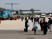Ouverture de la ligne aérienne Vinh-Vientiane
