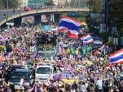 """Thaïlande : la """"paralysie"""" de Bangkok continue"""