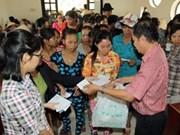 Têt : le pays entier solidaire avec les personnes pauvres