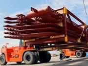 Exportation au Mexique de composants de chaudières