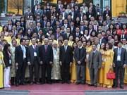 Truong Tan Sang rencontre des entrepreneurs exemplaires