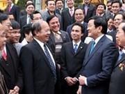 Le président salue les réalisations de L'Union des associations de l'UNESCO