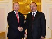 Vietnam-République de Corée : entretien entre des vice-PM