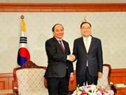 Nguyen Xuan Phuc en visite officielle en R. de Corée