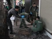 Thaïlande : la Marine rejette la responsabilité des explosions à Bangkok