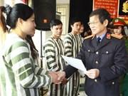 Hanoi : réduction de peine pour 230 prisonniers