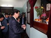 Nguyen Tan Dung rend hommage au président Hô Chi Minh