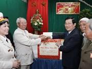 Le Président visite un musée des révolutionnaires prisonniers