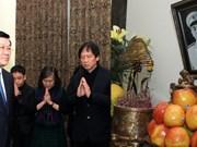 Le président Truong Tan Sang rend hommage au général Vo Nguyen Giap