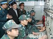 Le président du Vietnam rend des visites du Têt