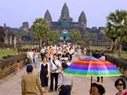 Le nombre de touristes au Cambodge en hausse de 18%