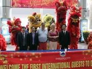 Da Nang accueille ses premiers touristes étrangers de l'Année du Cheval