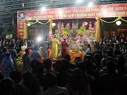 La fête du Temple Trân, nouveau patrimoine culturel immatériel national