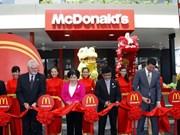 Ouverture du premier restaurant McDonald's au Vietnam