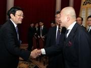 Le président appelle à davantage d'investissements japonais