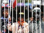 Thaïlande: les paysans continuent de défiler à Bangkok