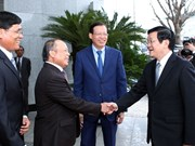 Le président formule ses voeux du Têt au groupe PVN