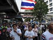 Thaïlande: la police arrête l'un des meneurs des forces anti-gouvernementales