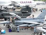 Ouverture du Singapore Airshow 2014
