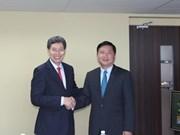 Transport: le Vietnam renforce sa coopération avec Singapour et l'UE