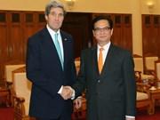 John Kerry rencontrera le secrétaire général de l'ASEAN