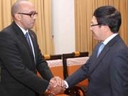 Renforcement des relations entre Cuba et l'Inde