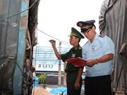 Guichet unique à un poste-frontière Vietnam-Laos