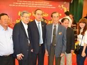 """Nguyen Thien Nhan rencontre des """"Viet kieu"""" à HCM-Ville"""