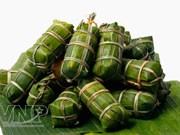 """Le """"Banh tet"""", un plat indispensable pour le Têt dans le Sud"""